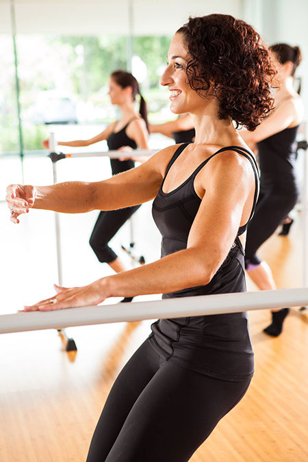 Barre classes Naples Florida at Beyond Motion