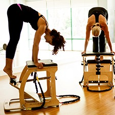 pilates teacher training chair