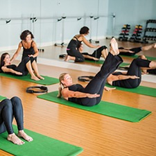 pilates instructor training mat