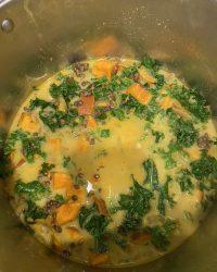 Sweet Potato & Lentil Curry